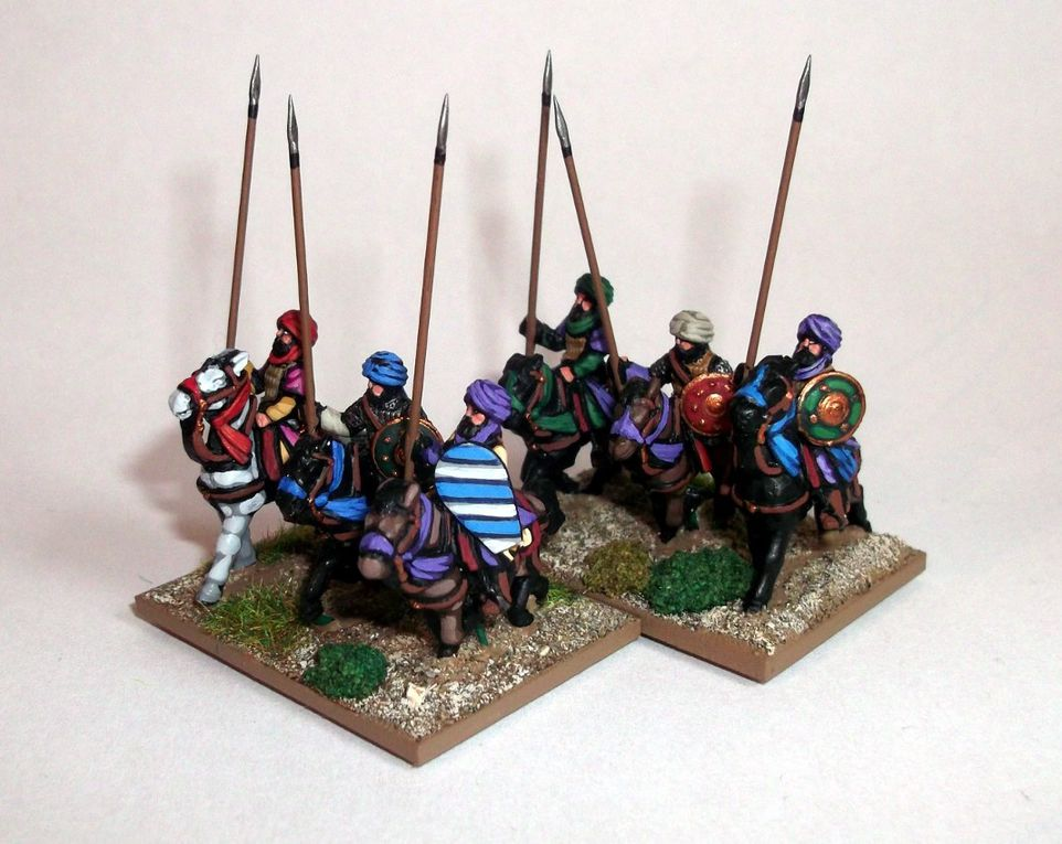 AdG : Cavaliers arabes 15mm.