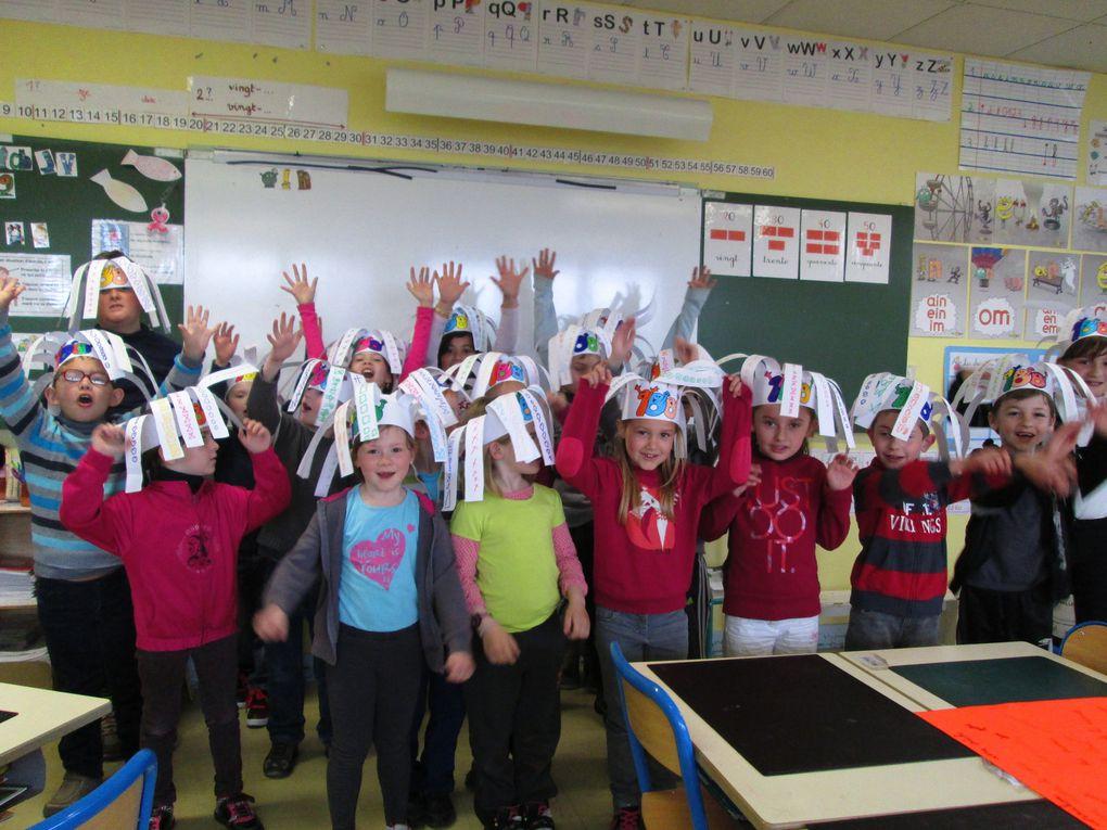100ème jour d'école : jour de fête !!