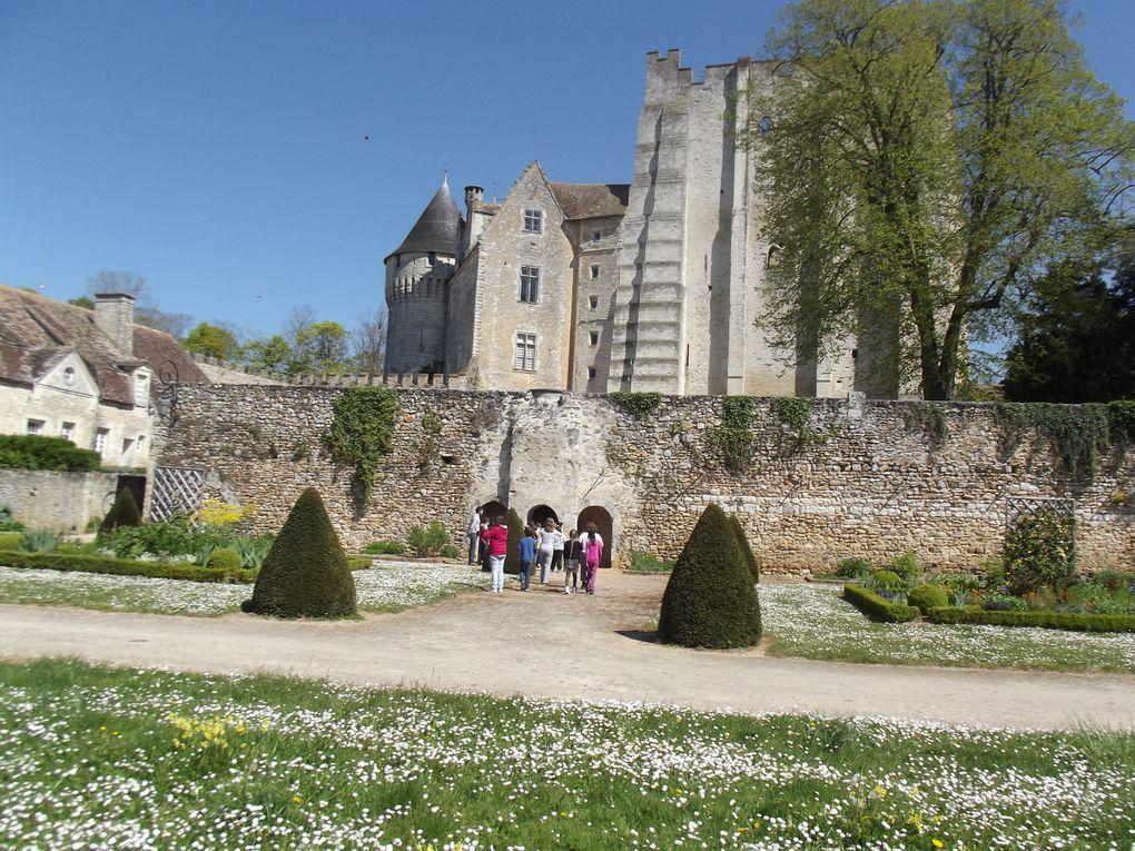 Sortie des CM1 au château de Nogent le Rotrou