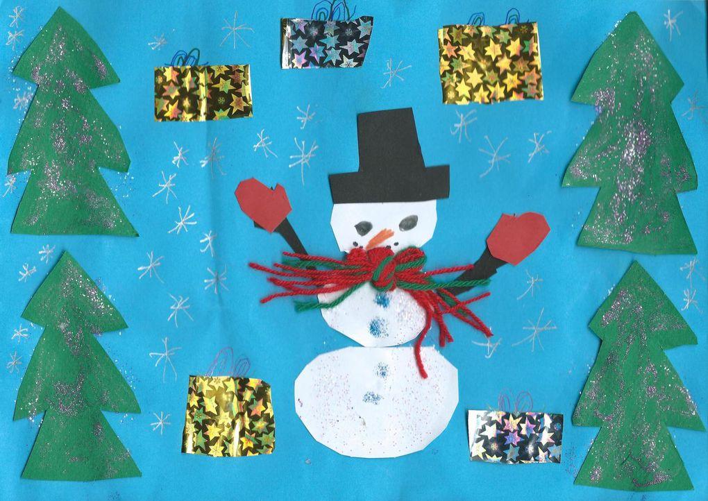 Concours de dessins de Noël : les gagnants