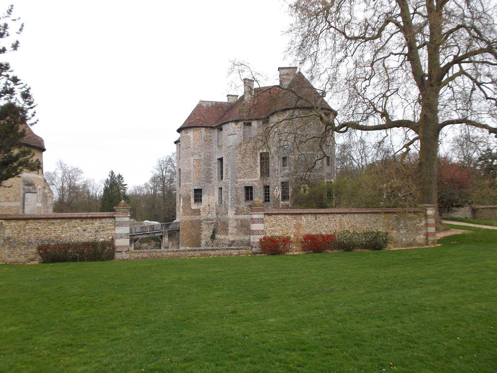 Sortie au château d'Harcourt avec les CM1