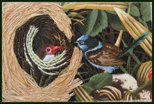 Album - Cartes-postales-textile