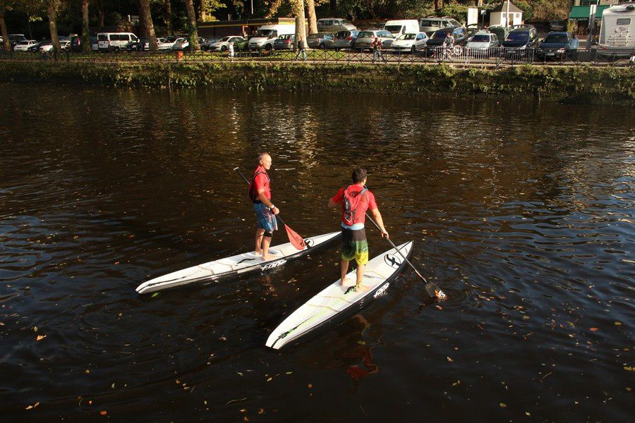 Stand Up Paddle à Quimper