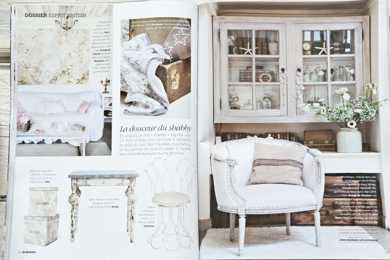 Comme un air Shabby Chic...