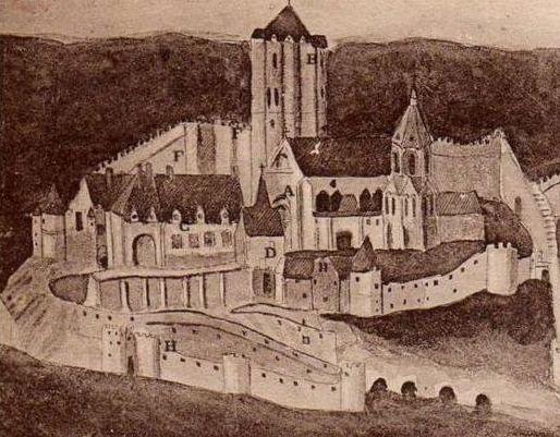 Dreux des comtes Robert - Chateau de la Robertière.