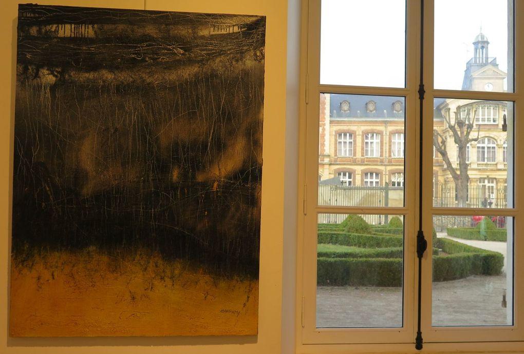 Peinture, street art et photographie à MONTULE-Maison des Arts.