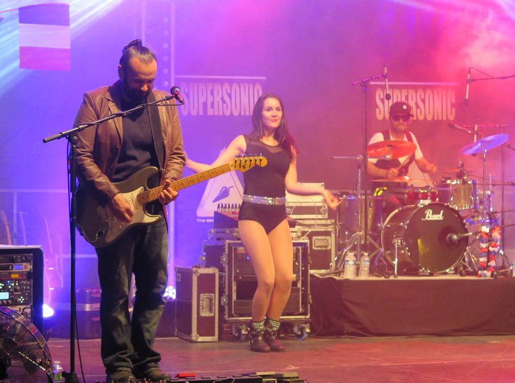 14 Juillet 2016 à Dreux -Concert et feu d'artifice.