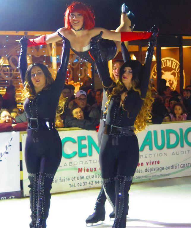 LES FLAMBARTS 2016 A DREUX - Vendredi 09 Décembre- Régate et patinage.
