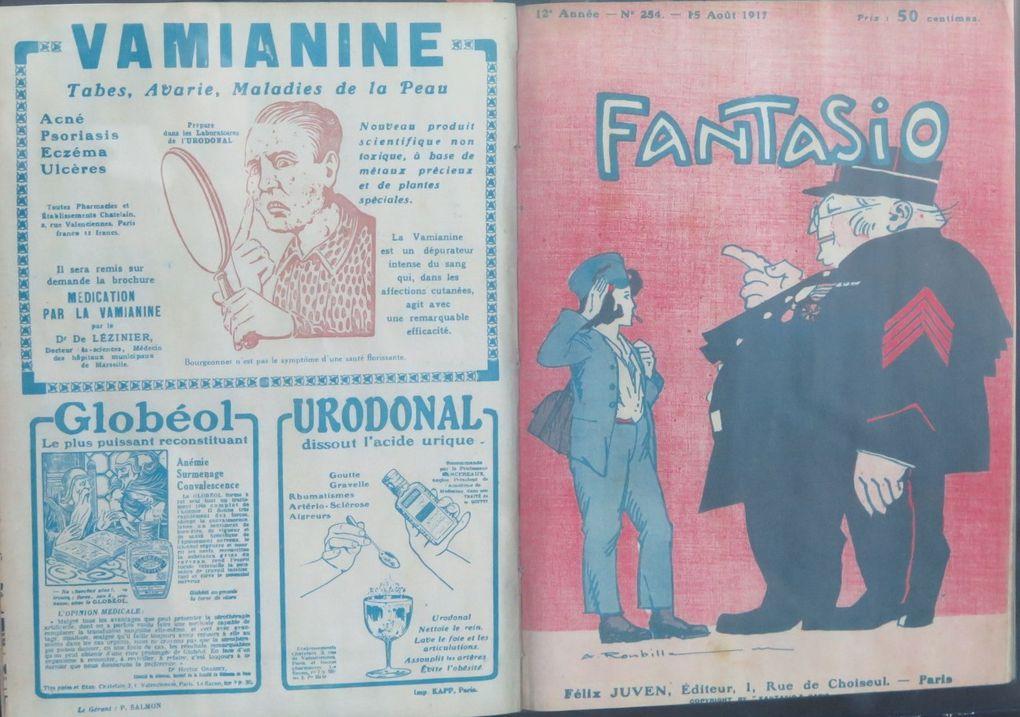 Centenaire 14/18 - L'année 1917 dans les journaux à la médiathèque de Dreux.