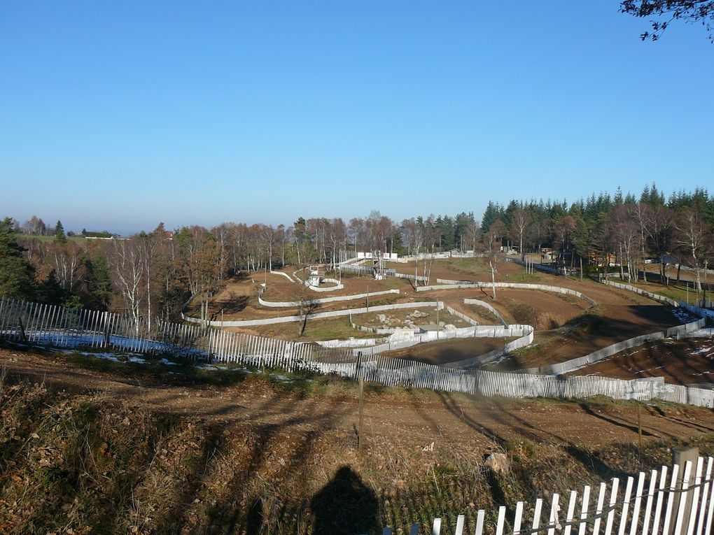 Le circuit de moto cross
