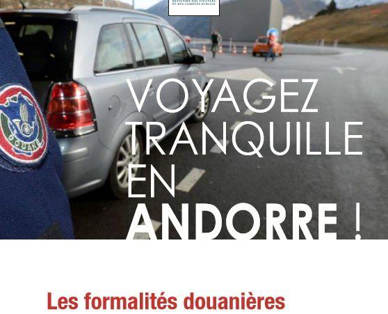 Combien de cigarettes et alcool puis-je ramener d'Andorre ?
