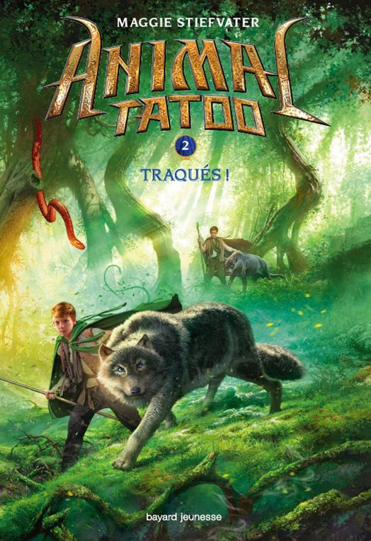 Animal tatoo - Tome 2 - Traqués de Maggie Stiefvater ♪ Roundtable Rival ♪