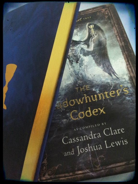 The Shadowhunters Codex de Cassandra Clare et Joshua Lewis