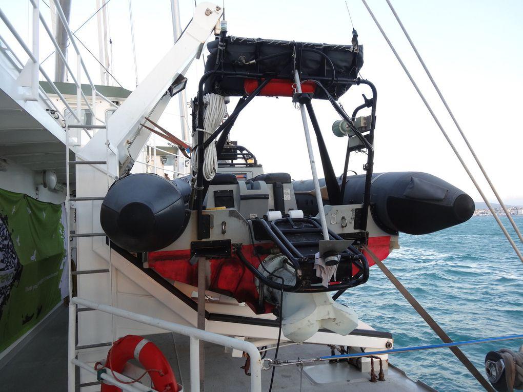Le Rainbow Warrior 3 de Greenpeace au Port de Tanger, le 29 et 30 octobre (8 photos)