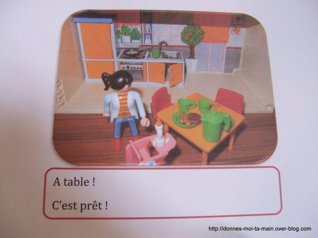 Comment jouer avec des playmobils ? Les supports.