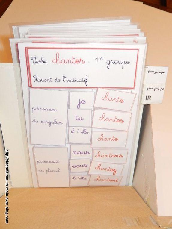 Conjugaison : différents supports pour commencer la conjugaison et la rendre un peu plus &quot&#x3B;attractive&quot&#x3B; !