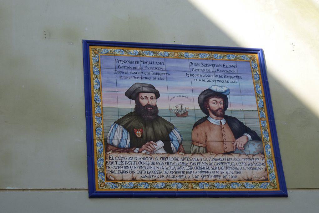 Sanlucar de Barrameda point de départ des expédition de F. Magellan