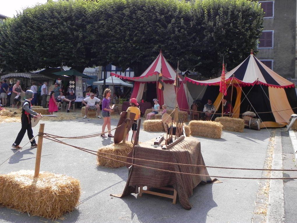 Marché médiéval à Bayonne