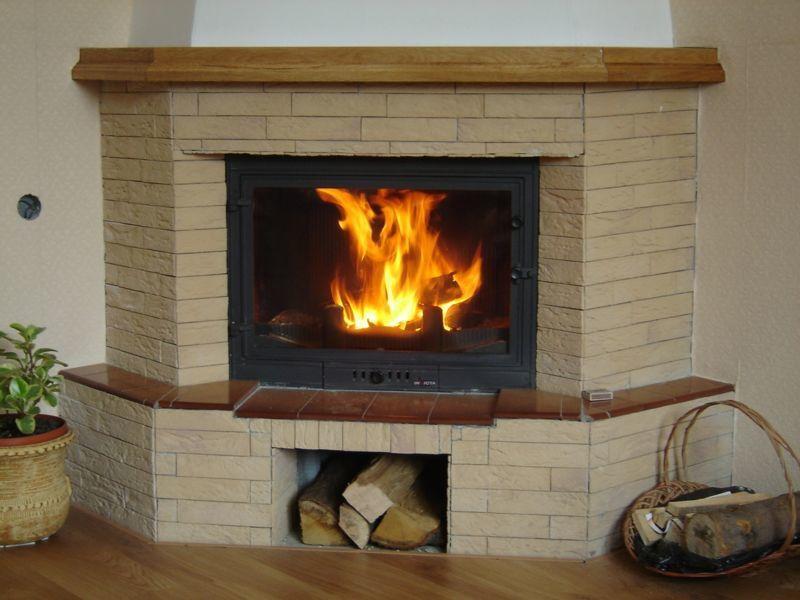 En hiver: un bon feu de cheminée et une bonne soupe ... Et on se sent bien.