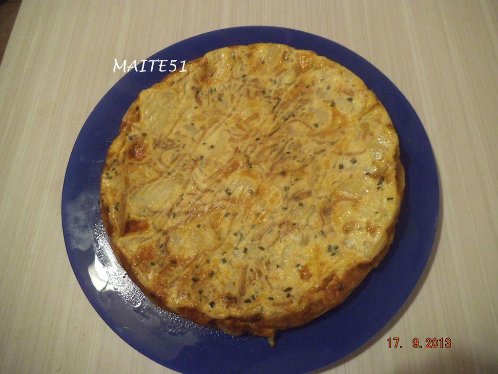 Gâteau d'Omelette aux PDT !