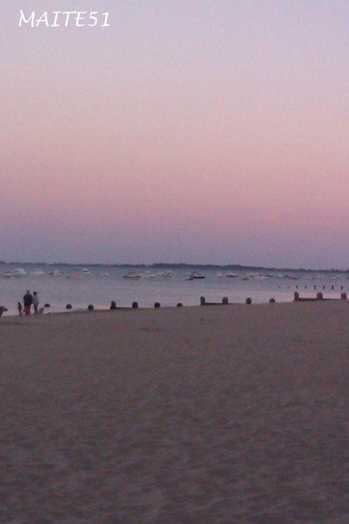 Couchers de soleil et plages !