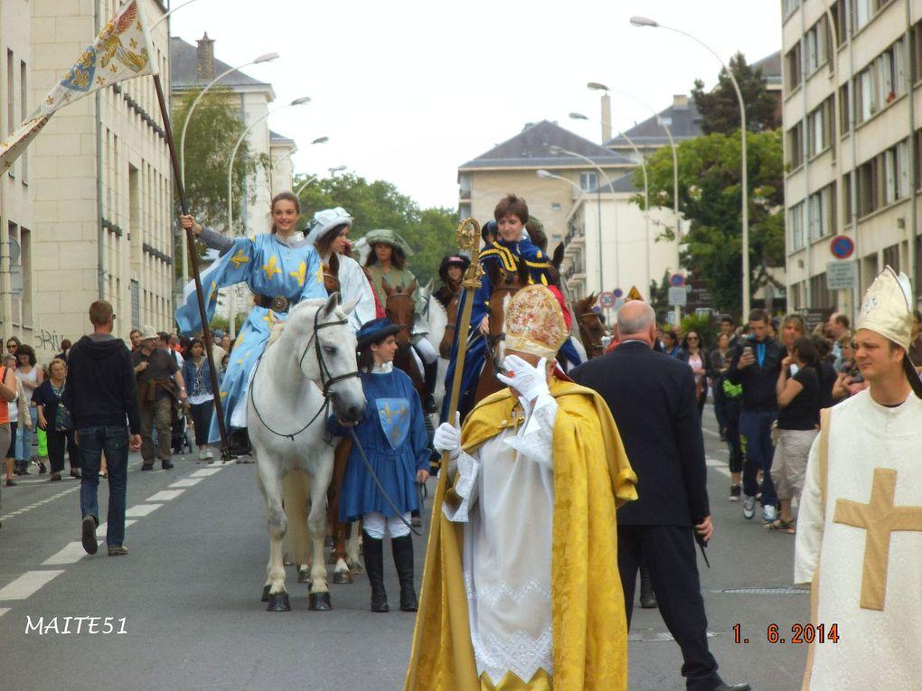Fêtes Johanniques 2014 à Reims !