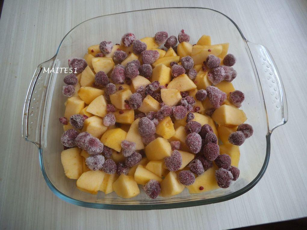 Version sans chocolat testée le 01/07/2014 ! Pommes pas assez cuites, j'aurai dû les compoter un peu avant !