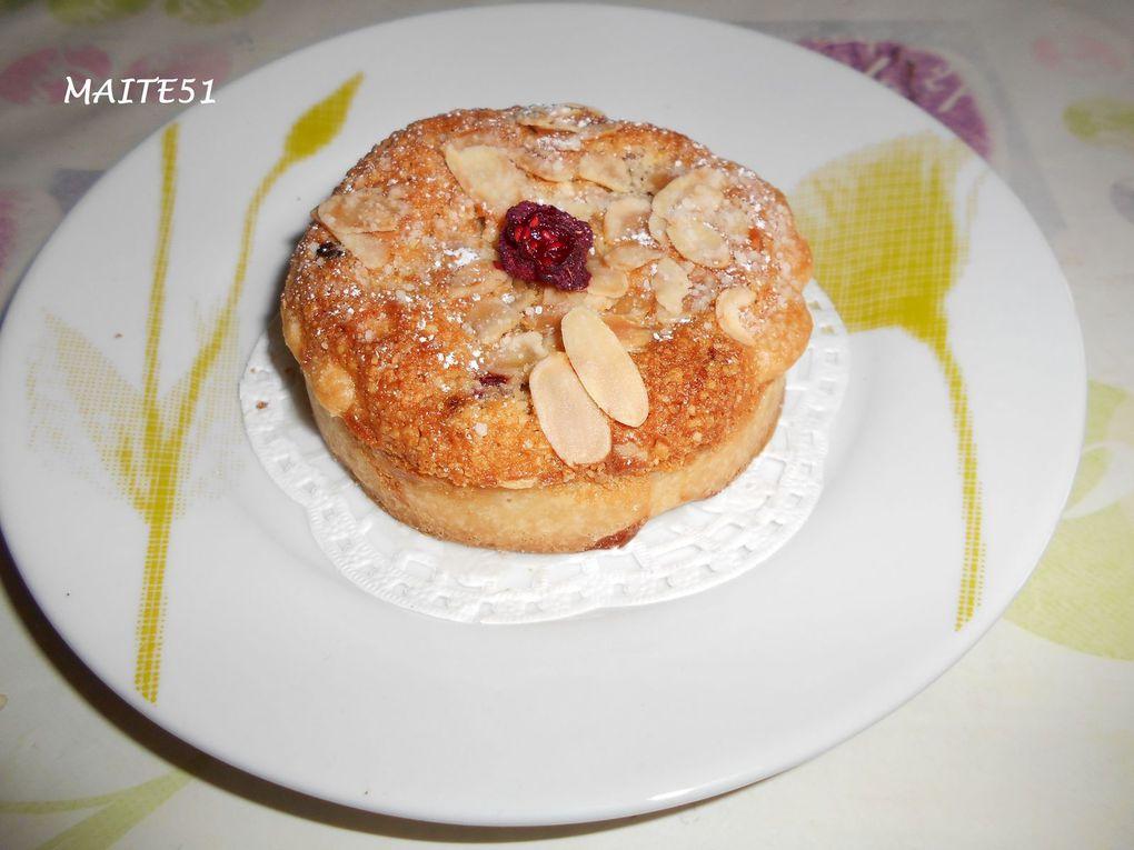 Tartelettes Amandines aux Framboises !