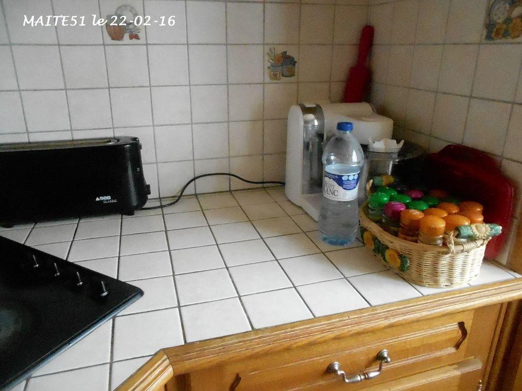 Du changement dans ma cuisine !