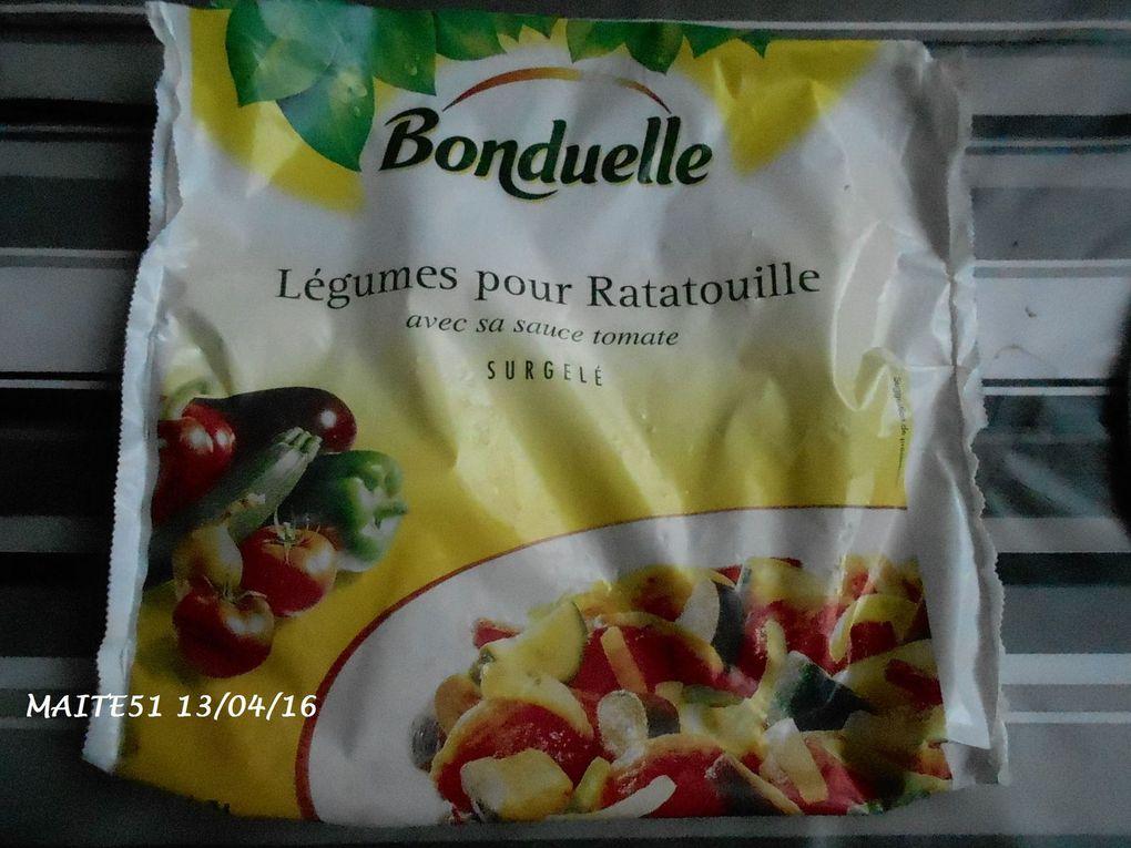 Poêlée Merguez, Riz, Ratatouille au Cookéo !