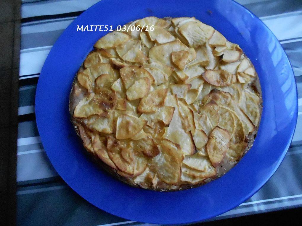 Gâteau Invisible aux Pommes light !