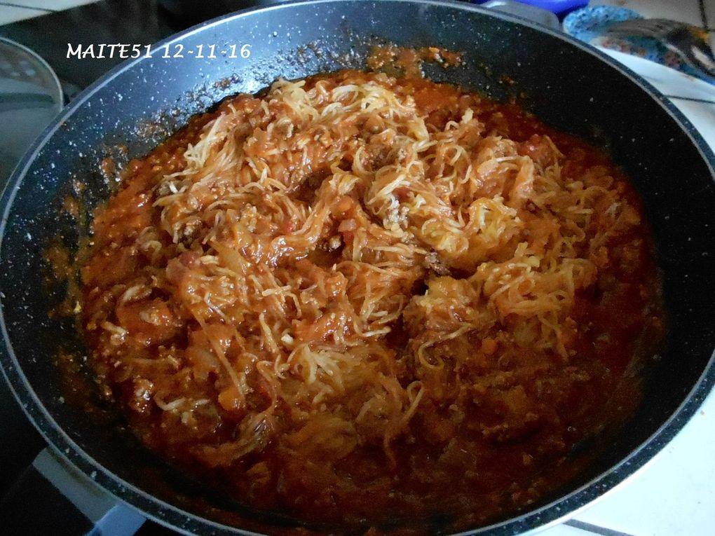 Courge Spaghetti au Gratin !