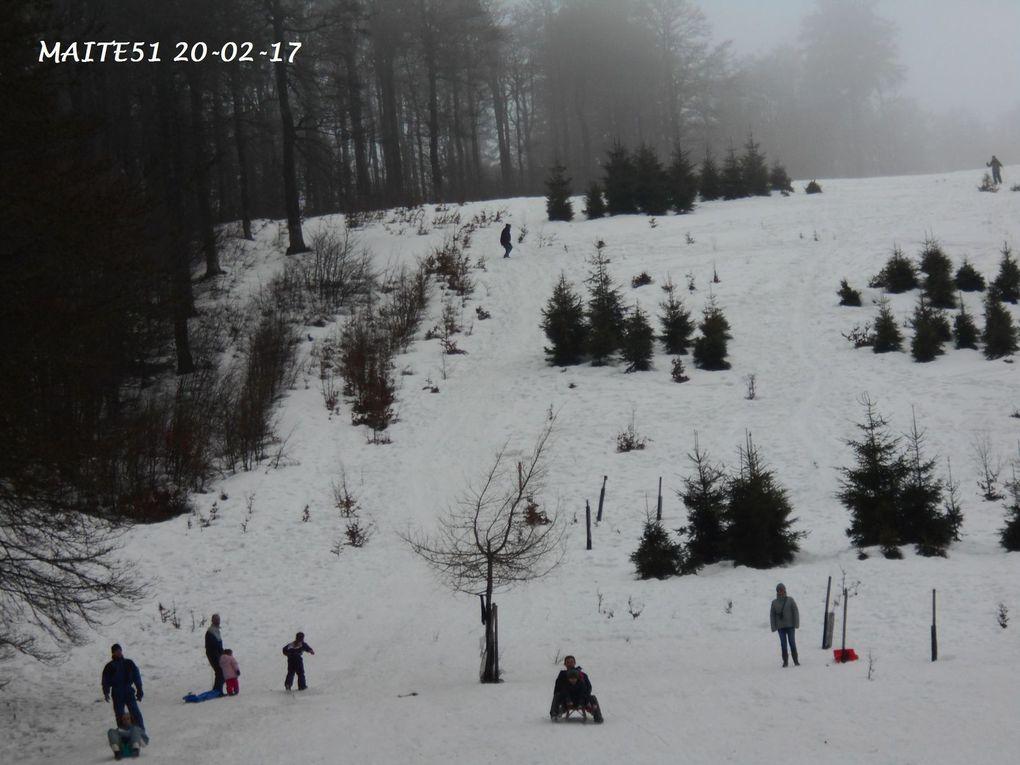 Vosges 2017 : Cascade, Neige... !