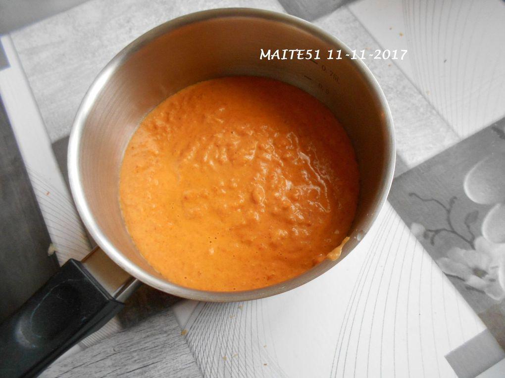 Pavé de Colin et Sauce au Chorizo !