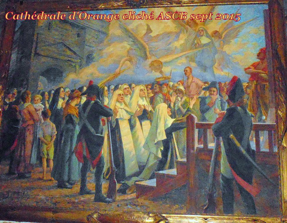 ORANGE, Vaucluse, LES CARNAGIES de  juillet 1794....