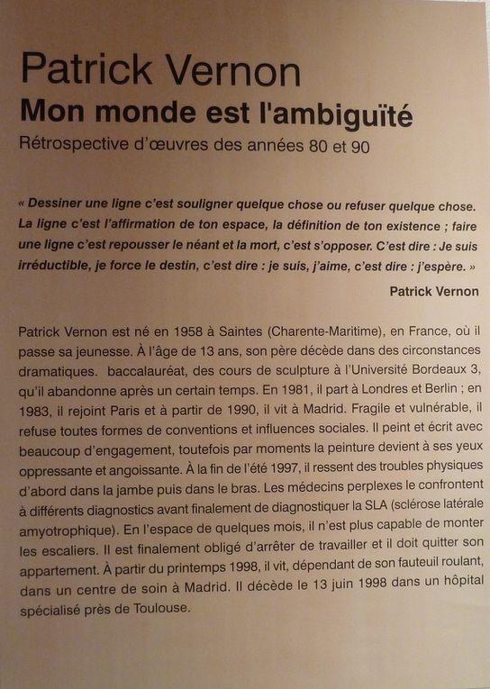 15 - Patrick Vernon / Mémoire pour ses peintures - Jean-Philippe Machon &quot&#x3B; Maire &quot&#x3B; dans le marbre - Le défilé pour une Miss &quot&#x3B; Galeries Lafayette &quot&#x3B; - Musique, chants et musées.. programmes de saison