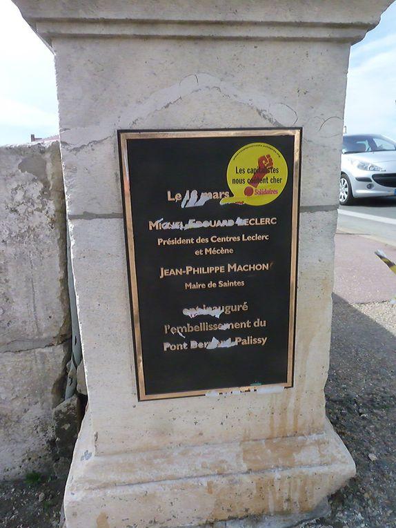 Mais au fait les capitalises.. c'est M-E Leclerc, Jean-Philippe Machon, maire, ou bien les citoyens de Saintes....?