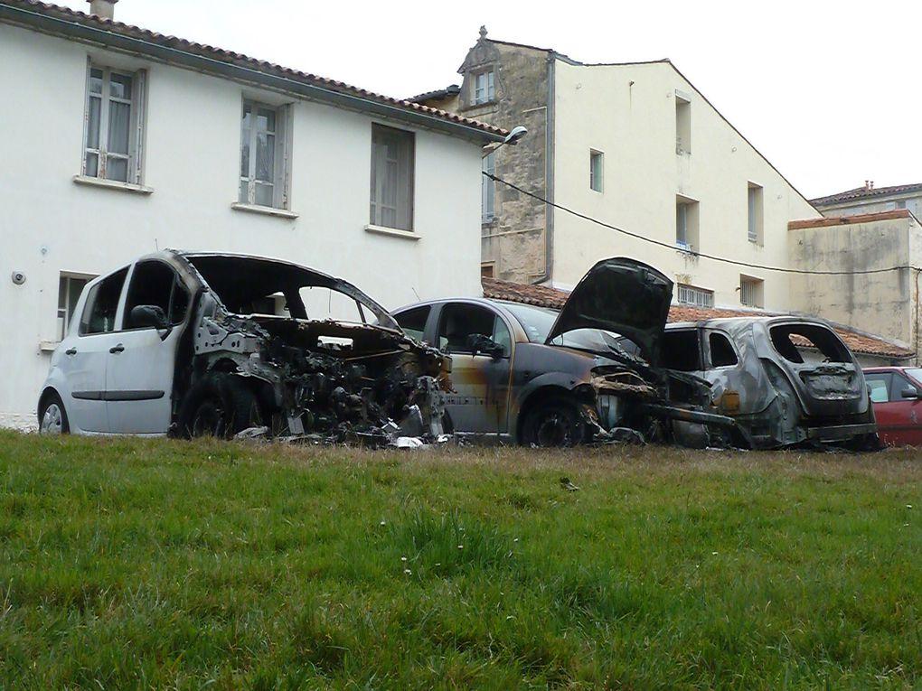 De vandalisme en acte inqualifiable: Atteinte aux familles endeuillées......