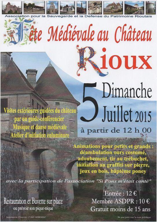 23 - A vos agendas.. Les chemins de mémoire... La Saintonge 39/45 - Rioux et son château - Saintes.. les cygnes attaquent... - &quot&#x3B; Les parapluies de Saintes &quot&#x3B; - Leclerc... et croix de mauvaise augure