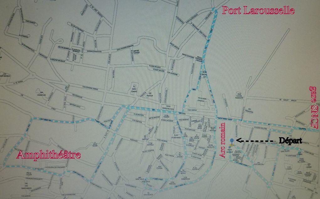 23 - Petit train touristique à Saintes.. Promesse du maire tenue - Jean-Pierre Blanchard.. un artiste chez les nonnes - Otama.. une créatrice de la seconde vie