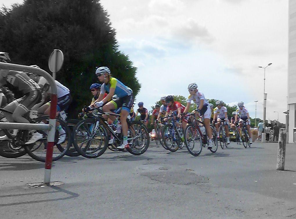 30 - Vision des perspectives... - Train et arc... phares de Saintes - Courses féminines et vélos