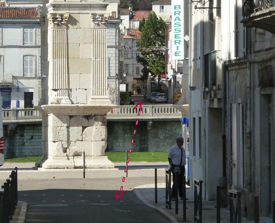 """Restons dans notre terroir&#x3B;.. Savez-vous qu'autrefois dans cet  axe les Gallos-Romains avaient installé un pont, certes la ville avait une autre configuration et les Charente était plus large à cet endroit.  Enfin on part à Ecurat avec le père concepteur du """" Mosquito """" qui s'est crashé à Fontenet le Comte (85) ce 6 août 2015....."""
