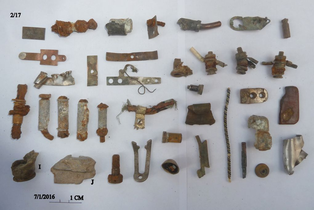 Après la découverte de plus de 6000 fragments - éléments, une découverte majeure sur le site d'un crash.