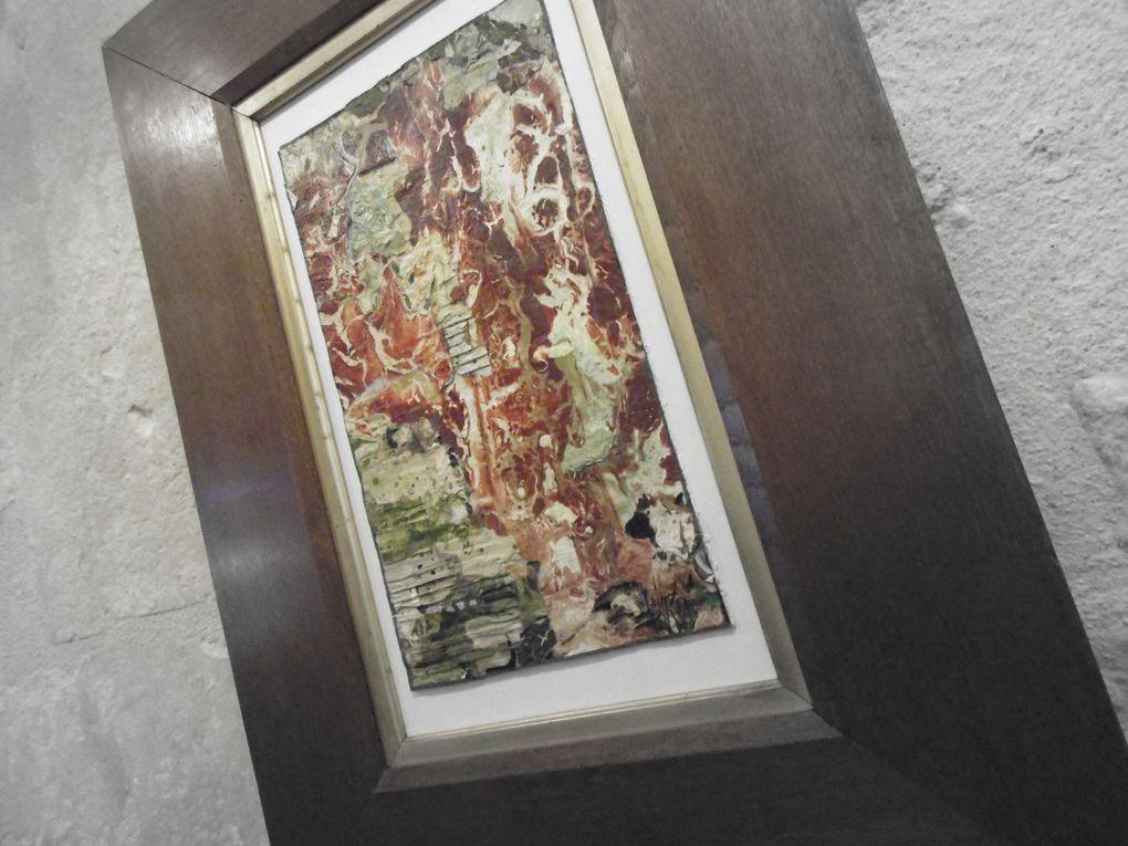 13 - Jean-Luc Vallégeas peintre. Beffroi échevinage photos interdites. Vernissage. Lascaux et traçabilité.