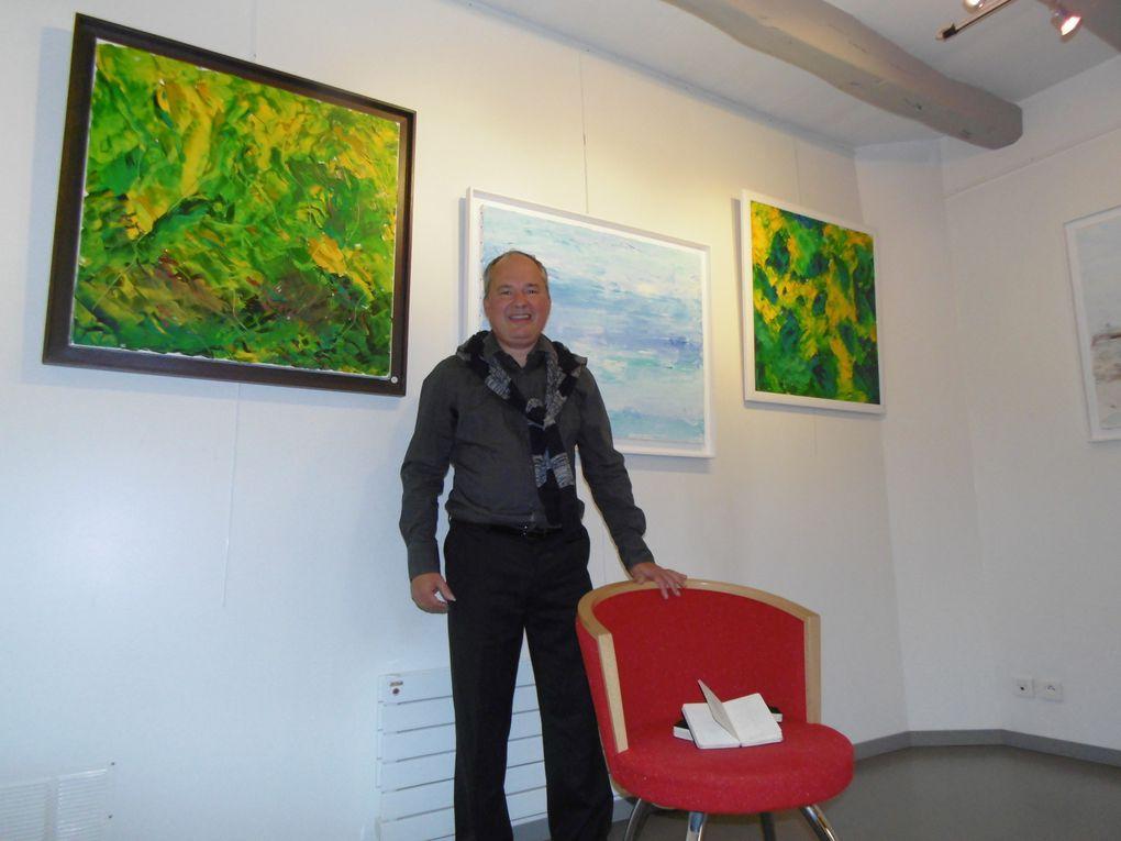C'est tout le mois d'octobre, ce leiu est bien connu de Culture-Histoire car régulièrement il y rencontre des artistes peintres.