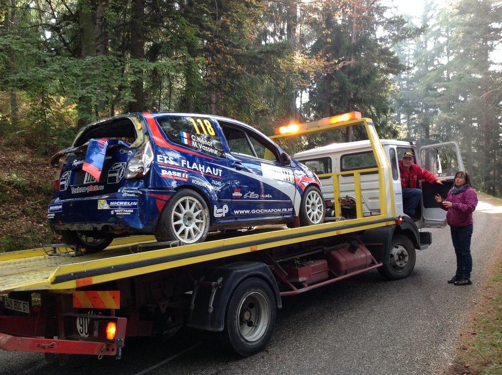 Hiver 2014 / 2015 (Remise en état de la C2 suite à notre sortie de route lors du Rallye de France WRC 2014)