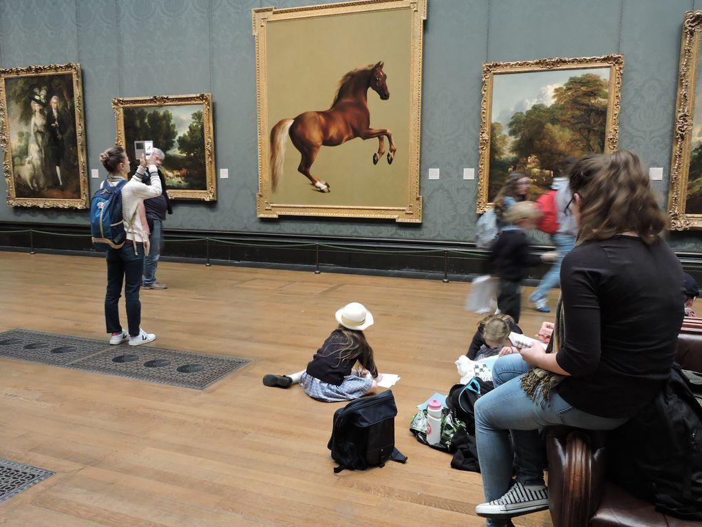 Scènes de vie, lieux de vie à Londres : parcs, musées, quartiers mythiques...