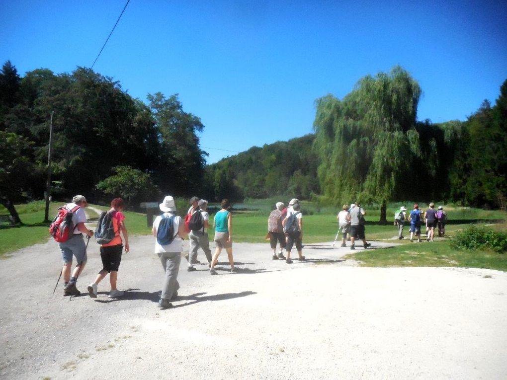 La randonnée autour des étangs