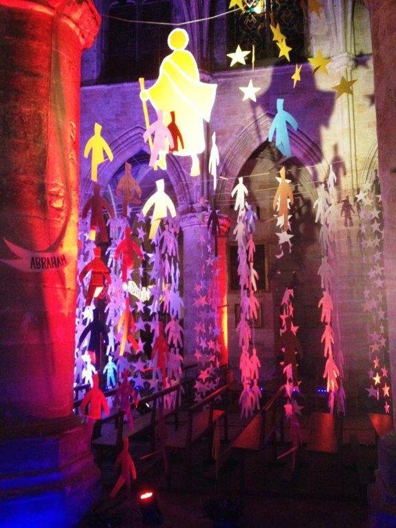 Exposition / animation &quot&#x3B;L'étoile de Noël&quot&#x3B; 2016 à l'église Notre Dame