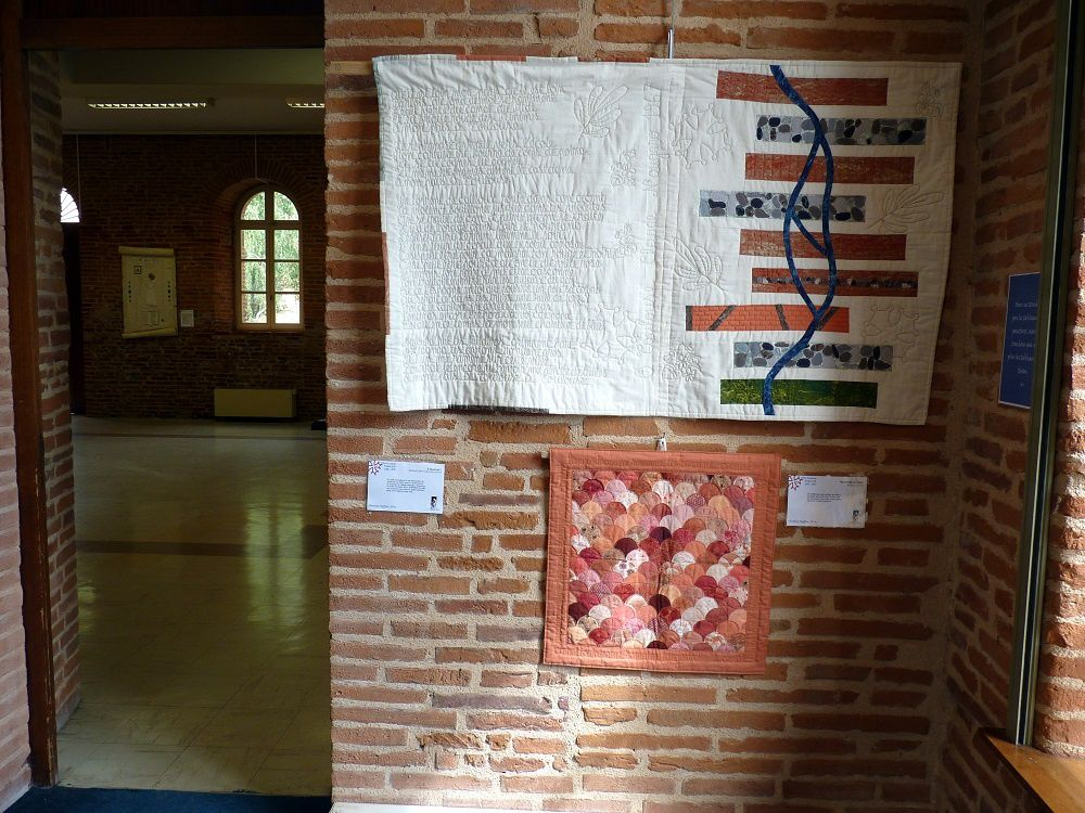 reportage sur l'expo &quot&#x3B;fibre occitane&quot&#x3B; à Albi
